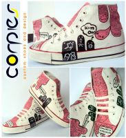 moster pinky shoes by JONY-CAKEP