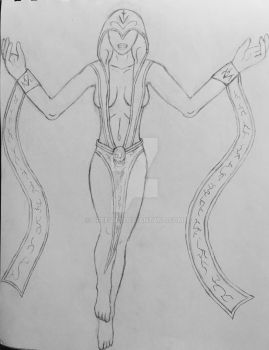 Elements of the Fourth: Necra, Lady of Death by Creeva7