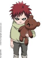kid gaara by nagato392