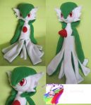 GARDEVOIR COMISSION PLUSH by chocoloverx3