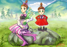 Mymble and Little My by Lahara