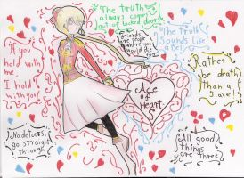 North Frisia as Ace of Hearts my APH OC by Meloni-chan