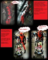 Deadpool comic page#5 by Cadmus130