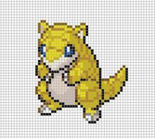 27.sandshrew by Electryonemoongoddes