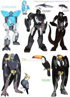 My Beast Wars OC's by ExtremePenguin