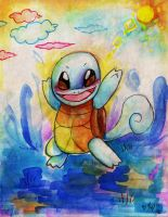 Squirtle by paje-chan