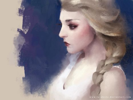 Elsa by LASAHIDO