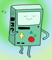 BMO Dancing by angelicbutterfly789