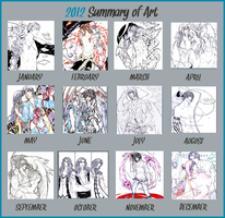 2012' arts by Kodomina