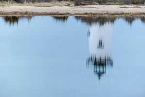 Edgartown Light Reflections DET1314-1 by detphoto