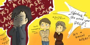 *EXCITED*Sherlock by ryokuZero91