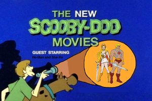 Scooby Doo meets He-Man and She-Ra by darthraner83