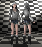 AliceLondonModern black and white by tombraider4ever