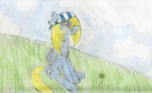 Corsair and the clouds by Brizner