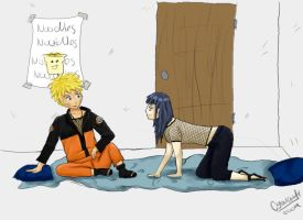 Naruhina - Grr by Mila-Dream-Believer