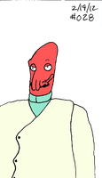 Zoidberg Challenge Day 28 by SickSean