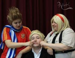 Cosplay - BeNeLux Family by melodyselenee