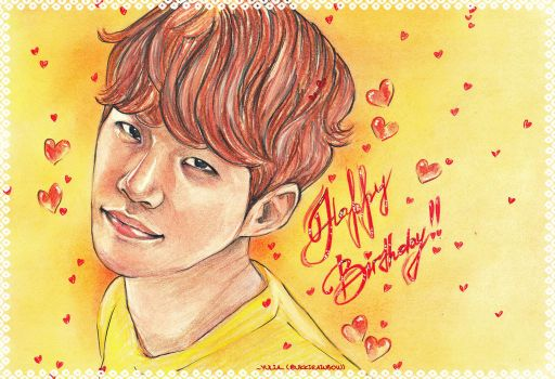 Happy Birthday, Lee Junho!! by UkkiRainbow