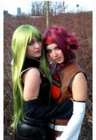 C.C. and Kallen-Tsunacon 2009 by Aotenshi
