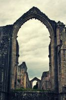 Fountains Abbey Altar Window by fayeana