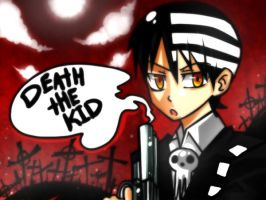 Soul eater - Death the kid by WeirdAlchemist