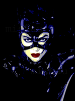 Catwoman by steemedrice