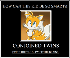 Tails - Making Conjoined Twins Look Cute by Loanet