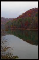 Fall at the lake 3 by JenniferSpriggs
