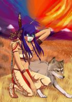 Contest Entry: Hunts With Wolves by winded-wolf