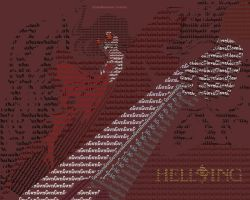 Hellsing typo-graphy XD by SeiakuCosplay