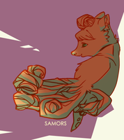vulpix by samors