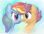 Sister Boops by zapsnapples