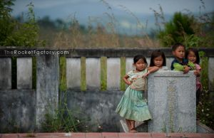 Children in the yard 02 by frankrizzo