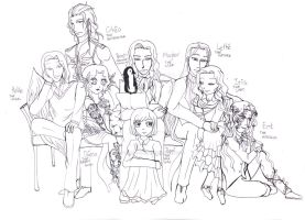 Immortal Family by IChiTa--WiYa