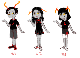 Series 1 Troll Red Blood Adopts by Hijinata