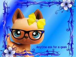 Anyone ask for a geek by xXClovertheCat52Xx