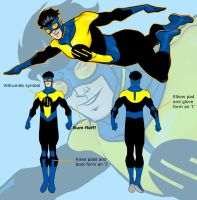 Invincible redesign 2 by BloodySamoan