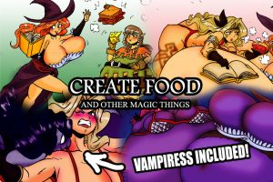 Create Food: And Other Magic Things by Yer-Keij-fer-Cash