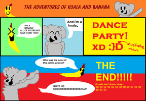 The Adventures of Koala and Banana - Comic by PuppyDawg1022