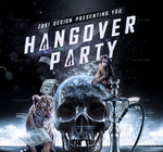 Hangover Party Flyer by zokidesign