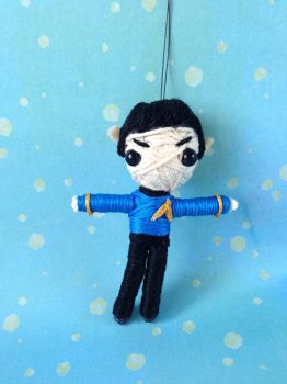 Spock String Doll by Quendrega