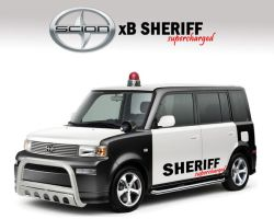 scion xB sheriff supercharged by otoz