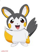 emolga first draw by pichu1990