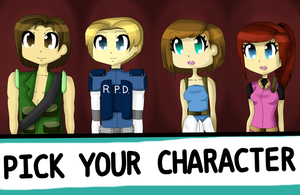 PICK YOUR CHARACTER by xAnimeCookie