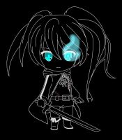 BLACK ROCK SHOOTER chibi 2 by fureki