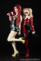 Harley and Ivy by SailorPhoenixx