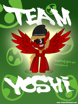 Team Chad Poster by Sonic-chaos