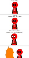Deadpool's Nightmare Part 1 by ThunderWolfang