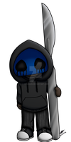 Chibi Eyeless Jack by Ixcuinan