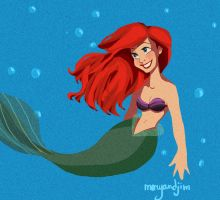 Ariel, her name is Ariel by MaryandJim